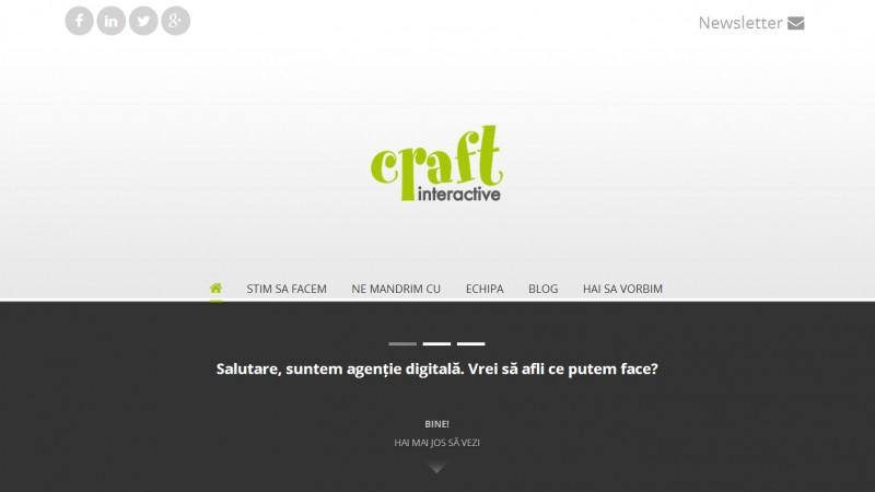Craft Interactive se reinventeaza