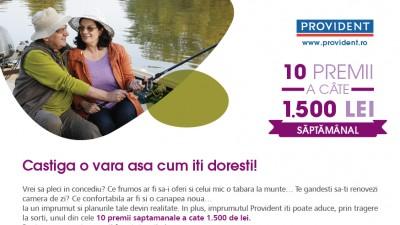 """Provident lanseaza campania promotionala """"Imprumutul pentru o vara pe cinste"""""""