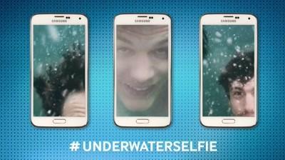 Samsung Galaxy S5 - #UnderwaterSelfie Challenge