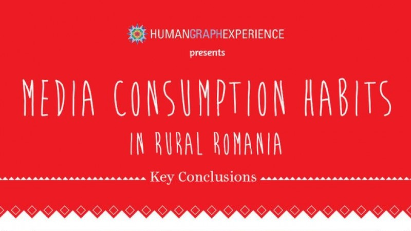 Starcom MediaVest Group lanseaza infograficul Media Consumption Habits in Rural Romania
