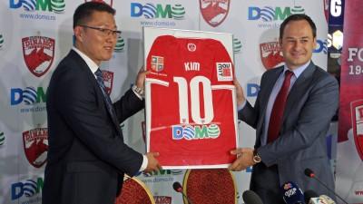 DOMO incheie un parteneriat de sustinere a echipei de fotbal DINAMO in perioada 2014 – 2015