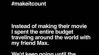 Nike+FuelBand - Make It Count (Casey Neistat)
