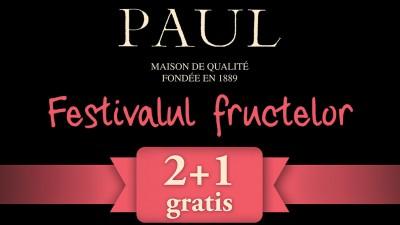"""""""Festivalul fructelor"""", o campanie promotionala pentru brutariile Paul, implementata de McCann si Golin"""