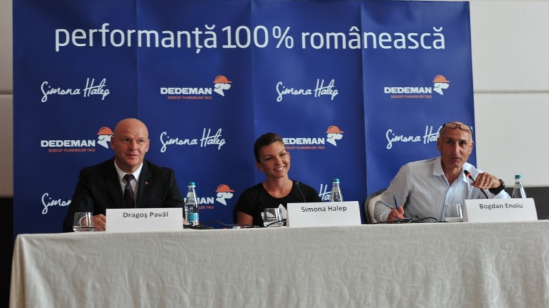"Dedeman sustine ""performanta 100% romaneasca"", intra intr-un parteneriat cu Simona Halep"
