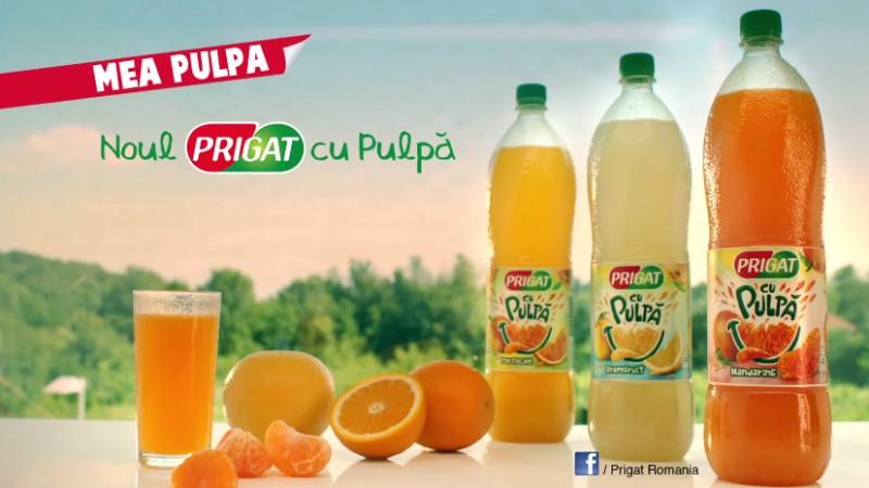 Mea Pulpa - o noua campanie pentru Prigat, semnata Graffiti BBDO