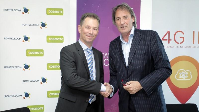 Romtelecom si COSMOTE Romania au semnat un contract cu Ericsson