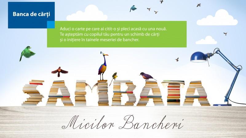 "Volksbank Romania lanseaza proiectul educational ""Sambata Micilor Bancheri"""