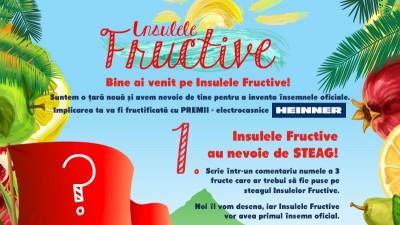 Facebook App: Selgros - Insulele Fructive (steagul)