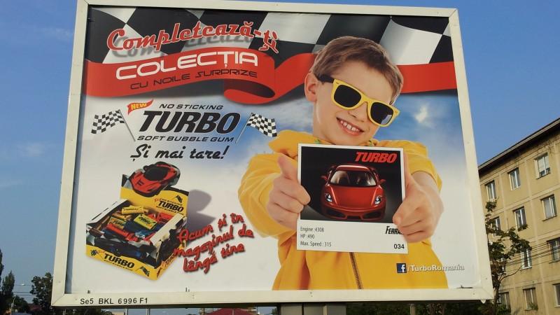 Noua generatie de guma Turbo vine in Romania