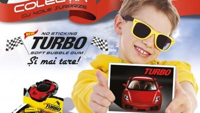 Guma TURBO - Completeaza-ti colectia