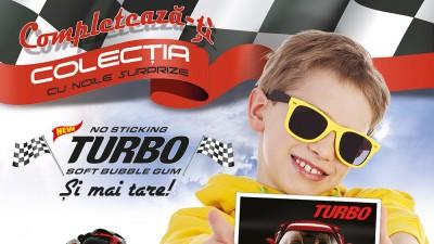 Romega Food Distribution aduce in Romania noua generatie de guma Turbo cu surprize