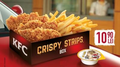 """KFC lanseaza campania Crispy Strips sub semnatura """"Oameni pe bune. Povesti pe bune. Pui pe bune."""""""