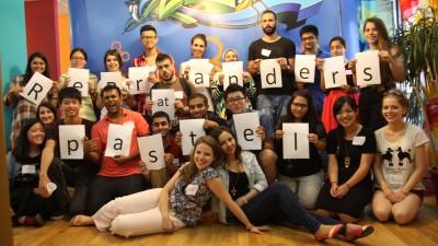ReBranders 3.0: pastel, AIESEC si 20 de tineri din 14 tari de pe 5 continente