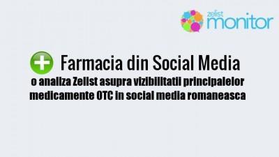 Analiza Zelist Monitor: Vizibilitatea principalelor medicamente OTC in social media romaneasca