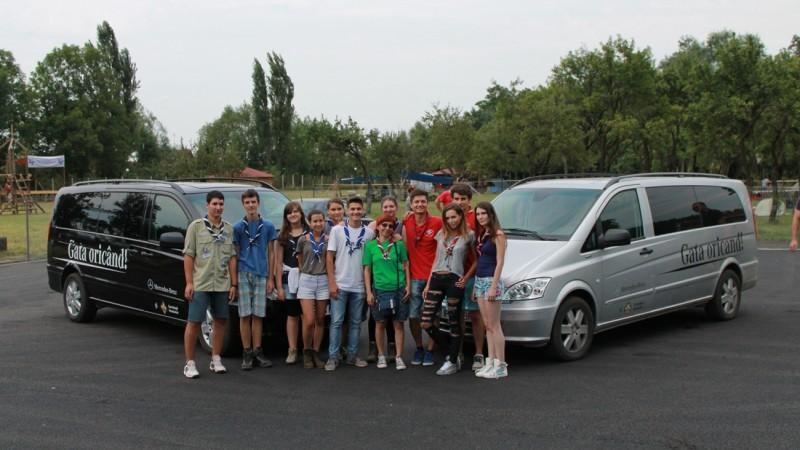 Mercedes-Benz Romania continua parteneriatul cu Cercetasii Romaniei