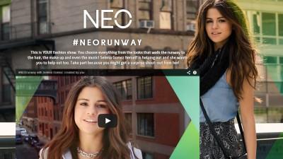 adidas NEO lanseaza in premiera mondiala prima prezentare de moda pentru adolescenti care are drept catwalk Twitter