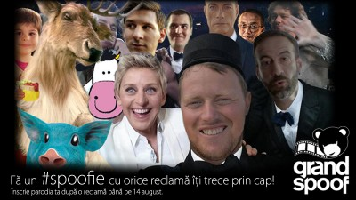 Fa un #spoofie! Inscrie-te in competitia de parodiat reclame Grand Spoof 2014