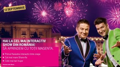 """""""Sa aprindem cu totii magenta"""" – teasing pentru lansarea brandului Telekom Romania"""