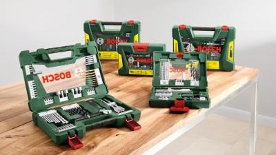 Bosch lanseaza noile seturi de accesorii V – Line pentru pasionatii de bricolaj
