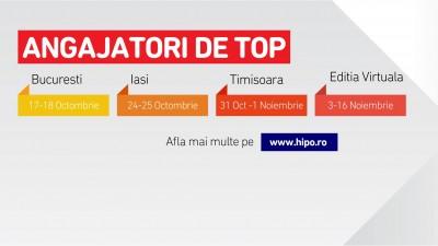 Cel mai mare targ de cariera, Angajatori de TOP revine in aceasta toamna cu 4 editii
