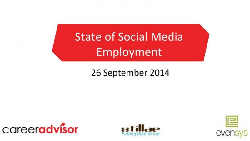 Cum au evoluat joburile in Social Media