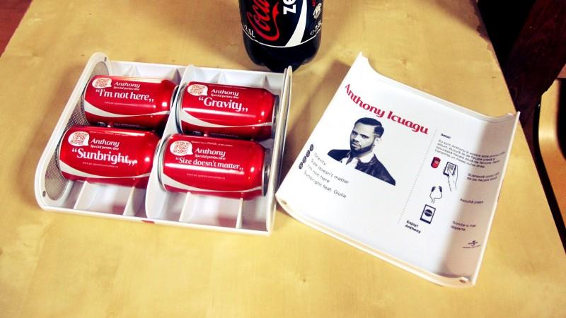 In loc de CD, doze de Coca-Cola. Cum si-a lansat Anthony Icuagu primul album