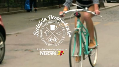 S-au creat 3 Biciclete Nemaivazute intr-un proiect conceput de Publicis pentru NESCAFE