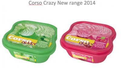 Corso Ice Cream Packaging Design