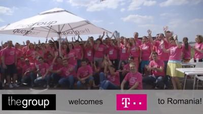 thegroup welcomes Telekom to Romania!