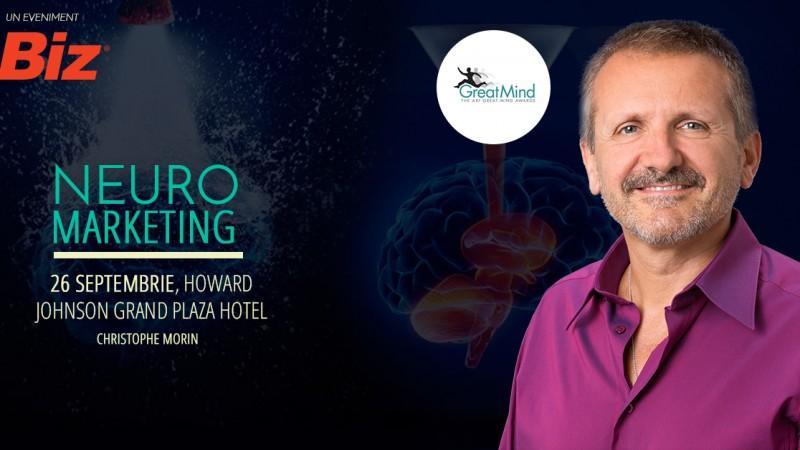 Fondatorul SalesBrain, invitat la Neuromarketing Conference
