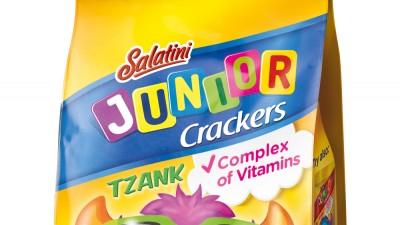 Salatini Junior Crackers - Packaging design