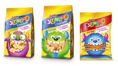 Cocoon Group Bucharest a realizat designul ambalajelor noii game Salatini Junior