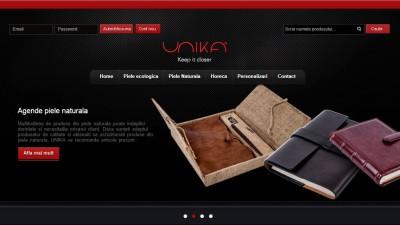 UNIKA - Website/ Logo nou
