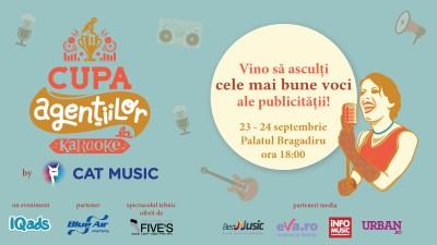 Pe 23 si 24 septembrie facem maraton de cantari la Cupa Agentiilor la Karaoke by Cat Music