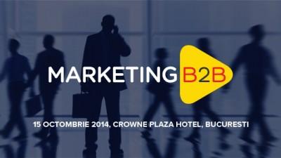 Primul training avansat de marketing B2B va avea loc pe 15 octombrie
