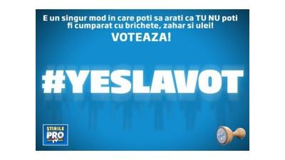 Eu YES, tu YESI, noi YESIM la VOT