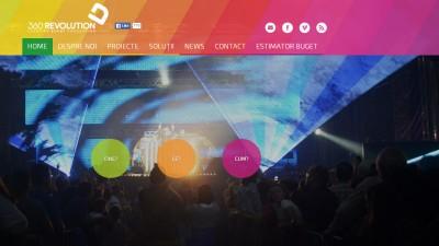 360 Revolution are un nou site. Poti afla cat te costa orice tip de eveniment