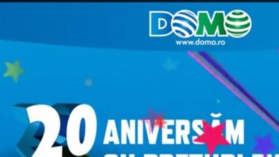 ERKA Synergy Communication este alaturi de DOMO Retail la aniversarea la 20 de ani de succes in Romania