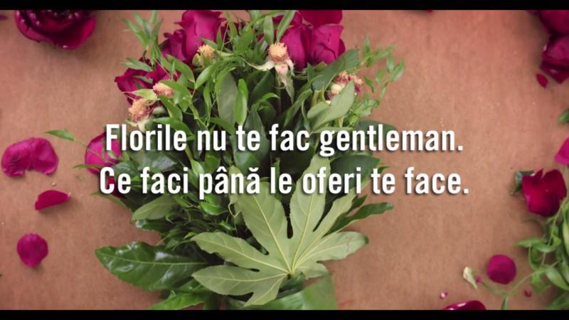 """Florile nu te fac gentleman"" - campania de comunicare a noii pozitionari Floria.ro, dezvoltata de Rusu+Bortun"