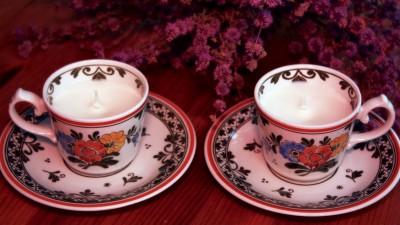 Cup & Candle: Splendoare intr-o ceasca vintage