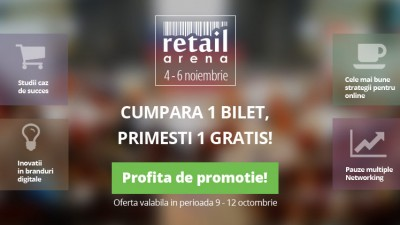 10 motive pentru a fi prezenti la retailArena: speakeri de top vorbesc despre inovatia in retail
