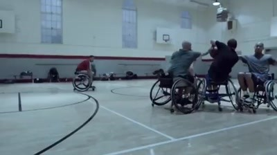Guinness - Wheelchair Basketball