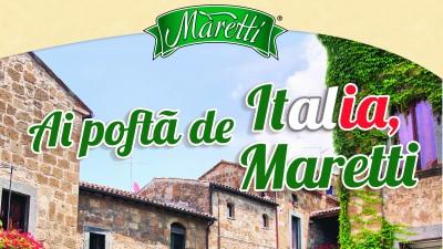 Brand Support semneaza cea mai recenta campanie promotionala Maretti