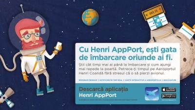 Henri AppPort - Gata de imbarcare