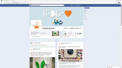 TechSoup Romania - Facebook cover