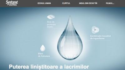 Smile Media si OMD promoveaza brandul Systane printr-un micro-site pe HotNews