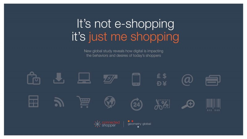 "Geometry Global anunta rezultatele studiului global ""Connected Shopper"""