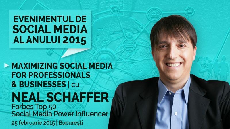 Conferinta Maximize Social Media for Professionals and Businesses