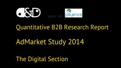 AdMarket 2014, Digital: Social Media e perceputa de clienti ca fiind cea mai importanta activitate din comunicarea online