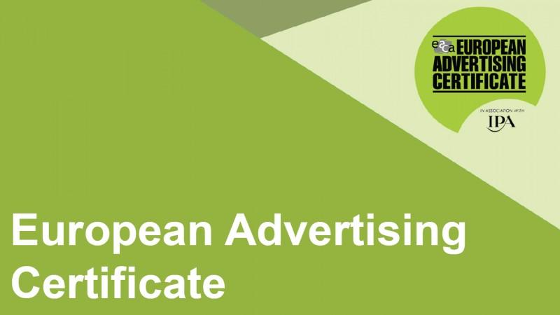 UAPR si EACA lanseaza European Advertising Certificate 2015